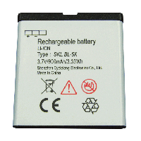 Mobile Phone Battery BL-5K 3.7V