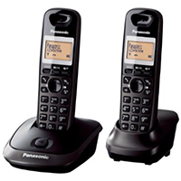 Panasonic KX-TG2512ET DECT Cordless Telephone - Twin Pack