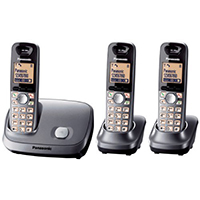 Panasonic KX-TG6513EM DECT Cordless Telephone - Triple Pack