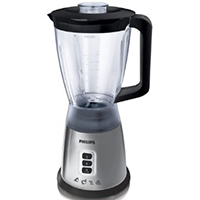 Philips HR2020 Blender Silver with 1.75L Jug - 400 Watts