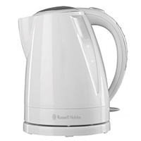Russell Hobbs 15075 Buxton Kettle 3kW in White Gloss 1.6L