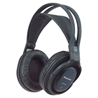 Panasonic RP-WF820EB RF Wireless Stereo Headphones System
