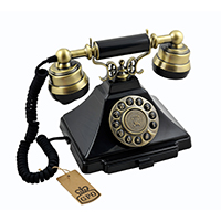 GPO Duke Traditional Rotary Dialling Telephone