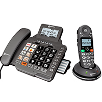 Geemarc Amplidect 355 Combi Corded & Cordless Amplified Telephone