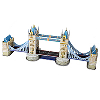 3D Puzzle Building Jigsaw - Tower Bridge