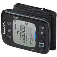 Omron RS8 Automatic Wrist Blood Pressure Monitor with NFC
