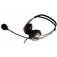 Geemarc Clearsound CLA3 Hearing Aid Compatible Headset & Mic
