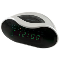 Libretta Digital AM/FM Radio Alarm Clock