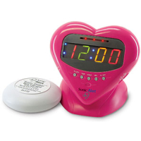 Sonic Alert SBH400 Multicoloured Alarm Clock with Shaker