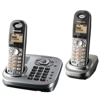 Panasonic KX-TG7342 DECT Phone Twin With Answer Machine