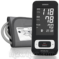 Omron MIT Elite Plus Upper Arm Digital Automatic Blood Pressure Monitor