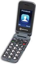 Amplicomms PowerTel M6750 Amplified Clamshell Mobile Phone