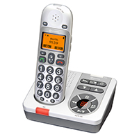 Amplicomms BigTel 280 Amplified Cordless Telephone With TAM