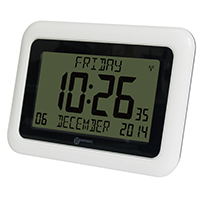 Geemarc VISIO10 Large Display Easy Read Digital Atomic Clock