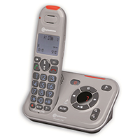 Amplicomms PowerTel 2780 Cordless Amplified Telephone With TAM