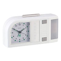 Humantechnik Time Flash Alarm Clock - White
