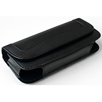 Stylish Leather Belt Case For Geemarc Mobile Phones